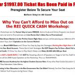 REI quick cash workshop