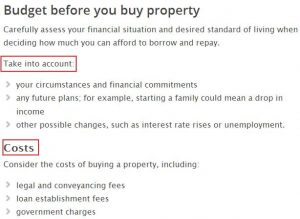zack childress real estate budget before you buy property