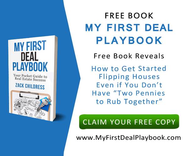 free book my first deal playbook-zack childress